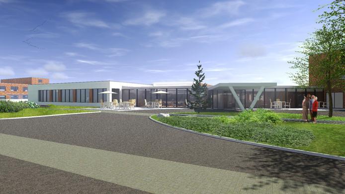 Impressie van verpleeghuis De Meent na revitalisering.