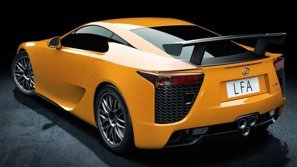 Lexus LFA : 100 – 0 km/u in 31,6 meter