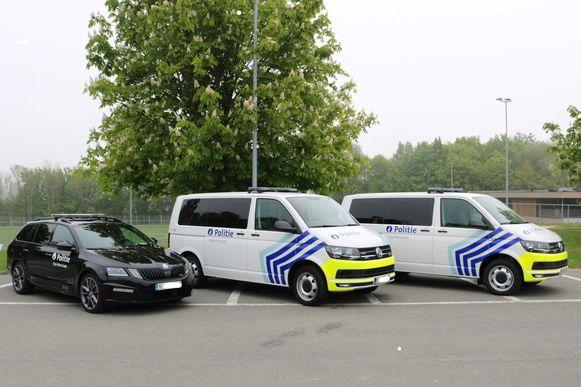 De nieuwe wagens patrouilleren sinds deze week in Erpe-Mere en Lede.