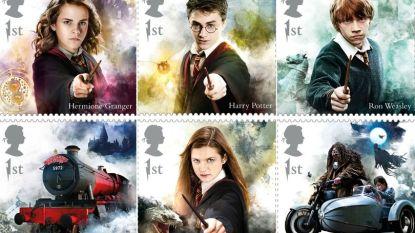 Harry Potter krijgt eigen 'magische' postzegels