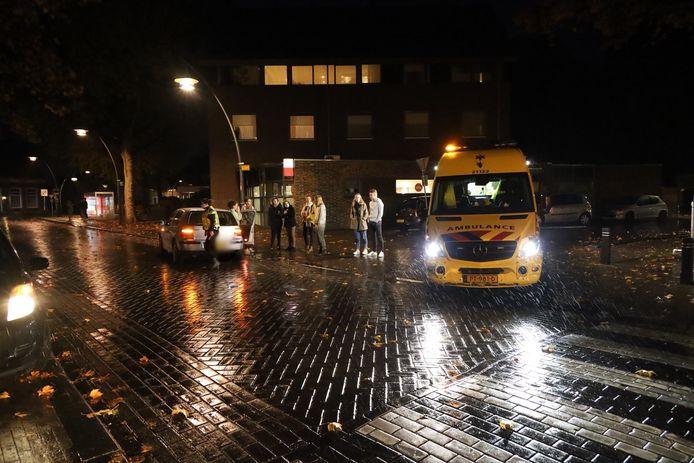 Voetganger gewond na botsing in Erp.