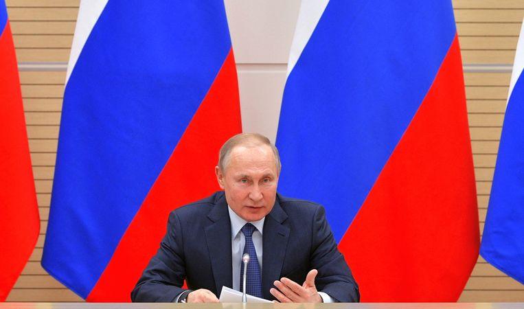 Poetin zou alweer de verkiezingen in 2020 willen beïnvloeden.