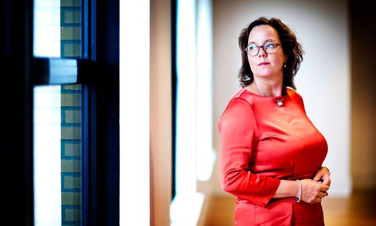 Minister Tamara van Ark (Medische Zorg en Sport) Beeld Guus Schoonewille