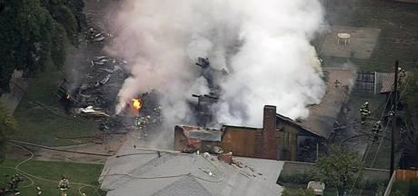 Vliegtuigje crasht op Amerikaans woonhuis