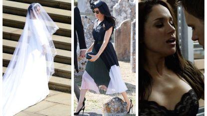 Het trouwfeest, de pikante filmpjes en haar opvallendste outfits: de hoogte- en dieptepunten uit 100 dagen Meghan Markle