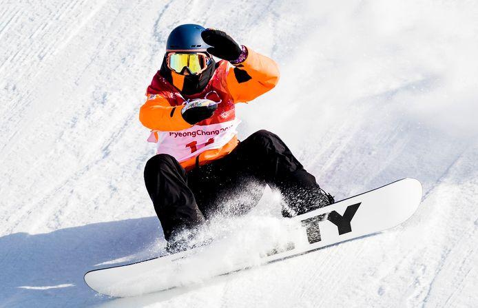 Cheryl Maas was een van de Nederlanders die vorig jaar meedeed met het WK Snowboard, georganiseerd in het Amerikaanse Park City.