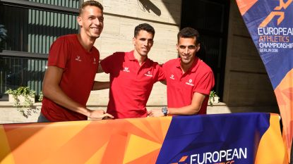"""Broers Borlée eerste keer samen aan de start van 400m op EK: """"Goud, zilver en brons: dat zou pas bingo zijn"""""""