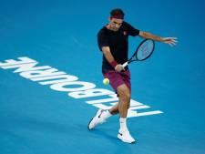 Australian Open rekent op deelname Federer