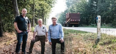 Toch wildspiegels langs provinciale wegen in Winterswijk