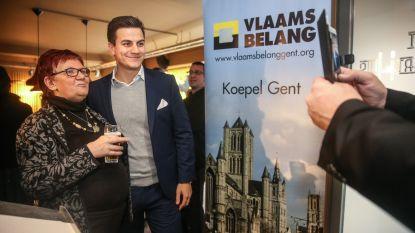 Dries Van Langenhove ster van nieuwjaarsreceptie Vlaams Belang Gent