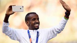 Bashir Abdi loopt in Londen zijn tweede marathon