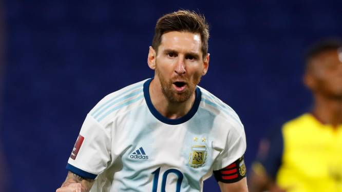 Messi bezorgt Argentinië zege in WK-kwalificatie, Chili dient klacht in nadat het zich bestolen voelt
