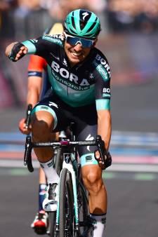 Benedetti sprint als een duveltje uit een doosje naar ritwinst, Polanc nieuwe leider