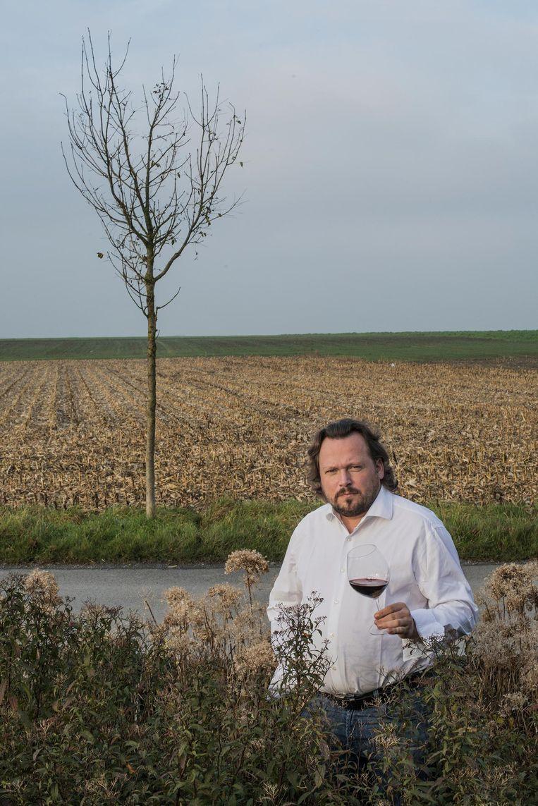 Chef Pieter Verheyde van Terminus in de Callicannesweg.