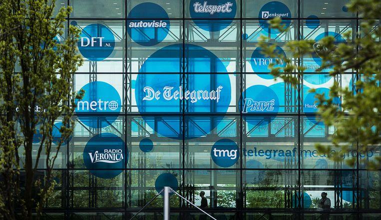 Het hoofdkantoor van de Telegraaf Media Groep Beeld anp