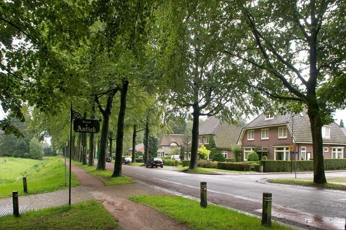 Straatbeeld in Rozendaal.