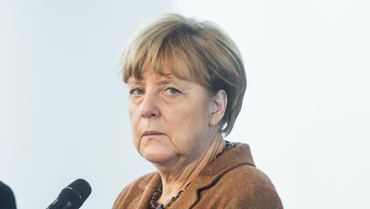 Bondskanselier Angela Merkel op 19 november 2015. Beeld getty