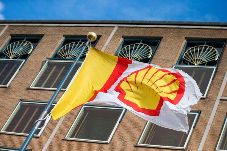 Het hoofdkantoor van Shell in Den Haag.  Beeld ANP