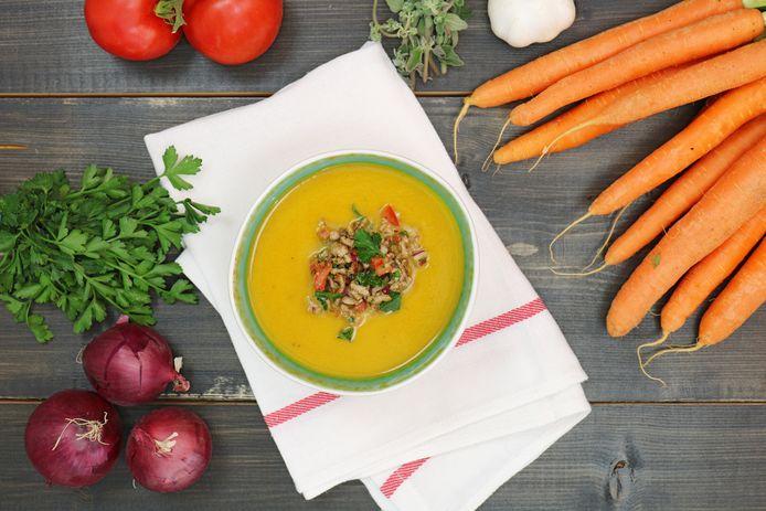 Een goedgevuld soepje!