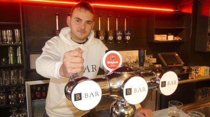Telg van bekende Nevelse bierhandelaars opent café in Drongen: Brent De Smet (18) wordt het gezicht van B-Bar