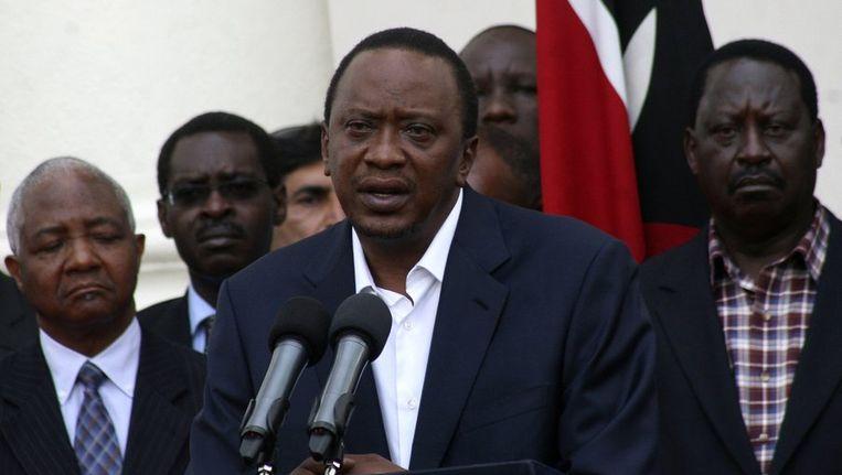 De Keniaanse president Uhuru Kenyatta. Beeld reuters