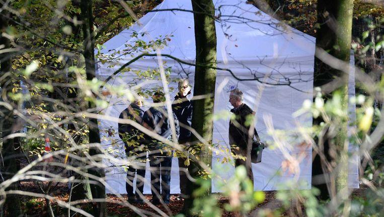 De 27-jarige man uit Esch die vastzit voor betrokkenheid bij de gruwelijke dood van een Syriër die in november brandend werd gevonden in een bos in Boxtel heeft een bekentenis afgelegd. Beeld Piroschka van de Wouw