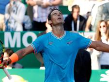 Nadal voor veertiende keer naar halve finale Monte Carlo