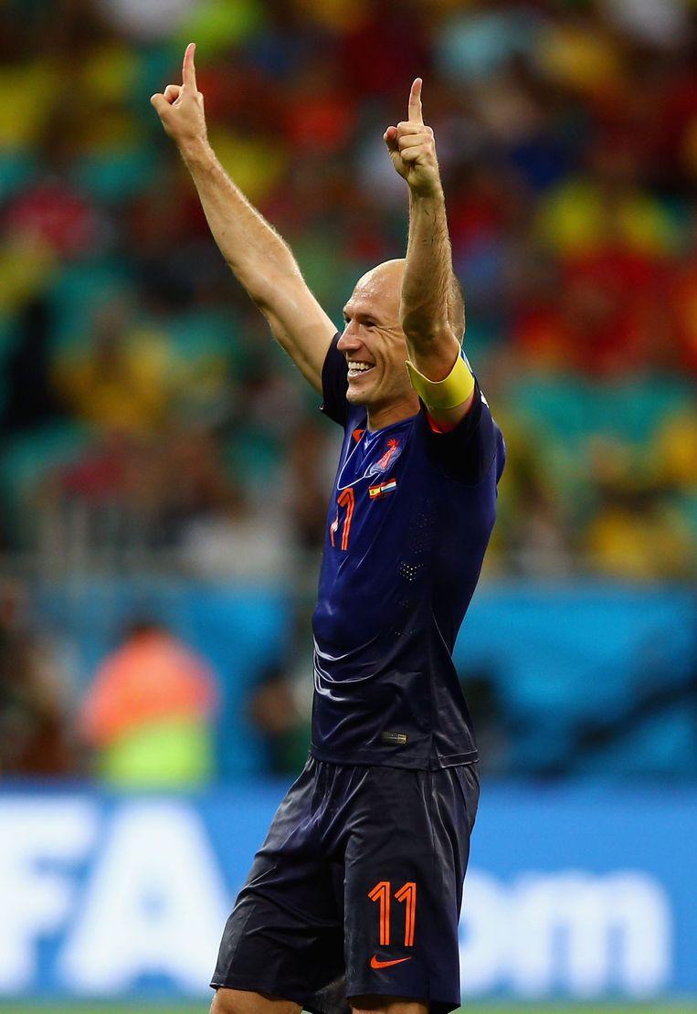 Arjen Robben Beeld getty