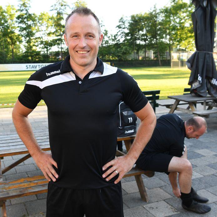 Koen Swanen, speler van DVVC. I