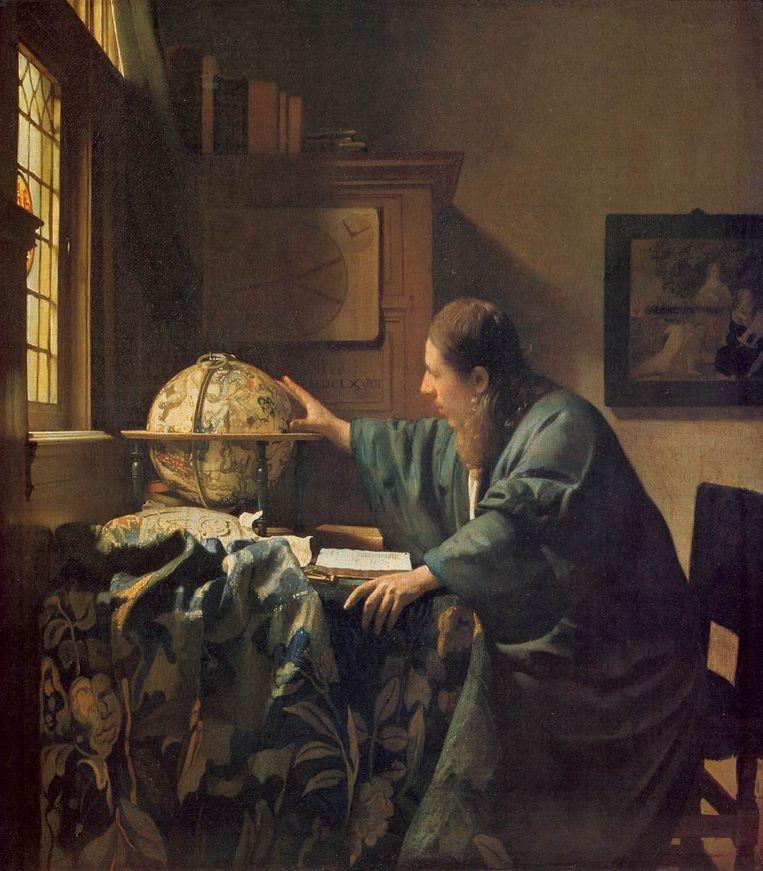 'Een soort toverachtige intimiteit.' Hier: De Astronoom (1668). Beeld