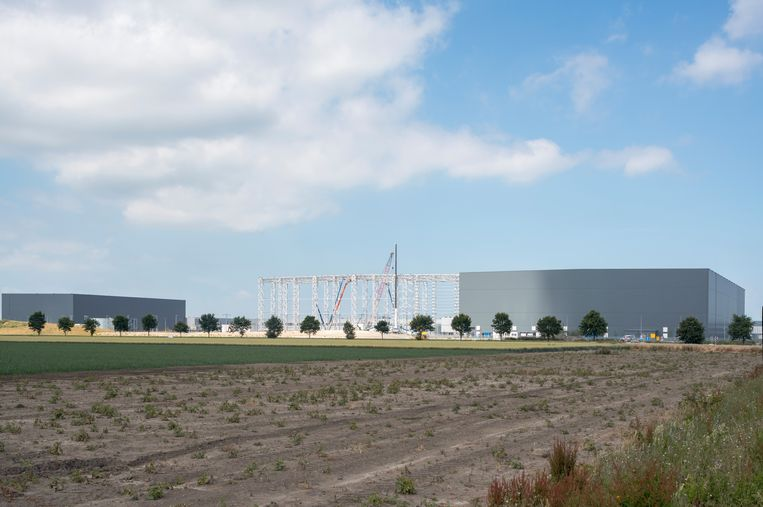 Internationaal opererende bedrijven, zoals het Spaanse Inditex, vestigen hun distributiecentra  in Lelystad, omdat het goed bereikbaar is vanuit Schiphol. Beeld Theo Baart