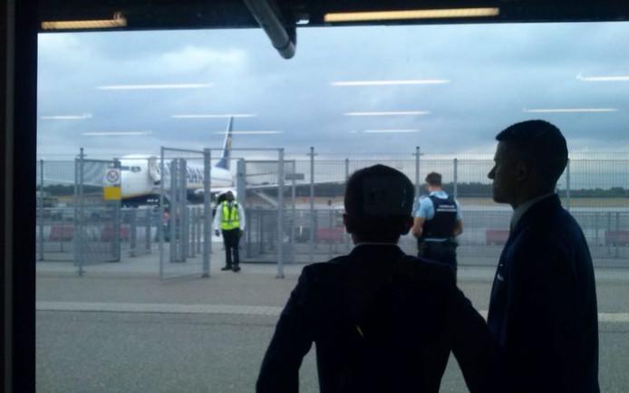 Bommelding op Eindhoven Airport