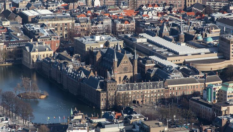 Het Binnenhof in Den Haag Beeld anp