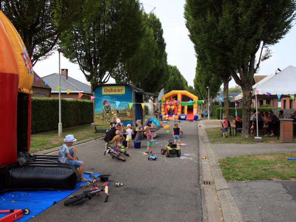 Een voorbeeld van een speelstraat.