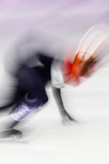 Sjinkie Knegt ontgoocheld na straf op 1000 meter