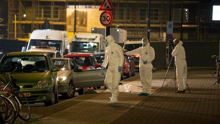 De 37-jarige Elco Gjaltema wordt door een onbekende doodgeschoten Beeld anp
