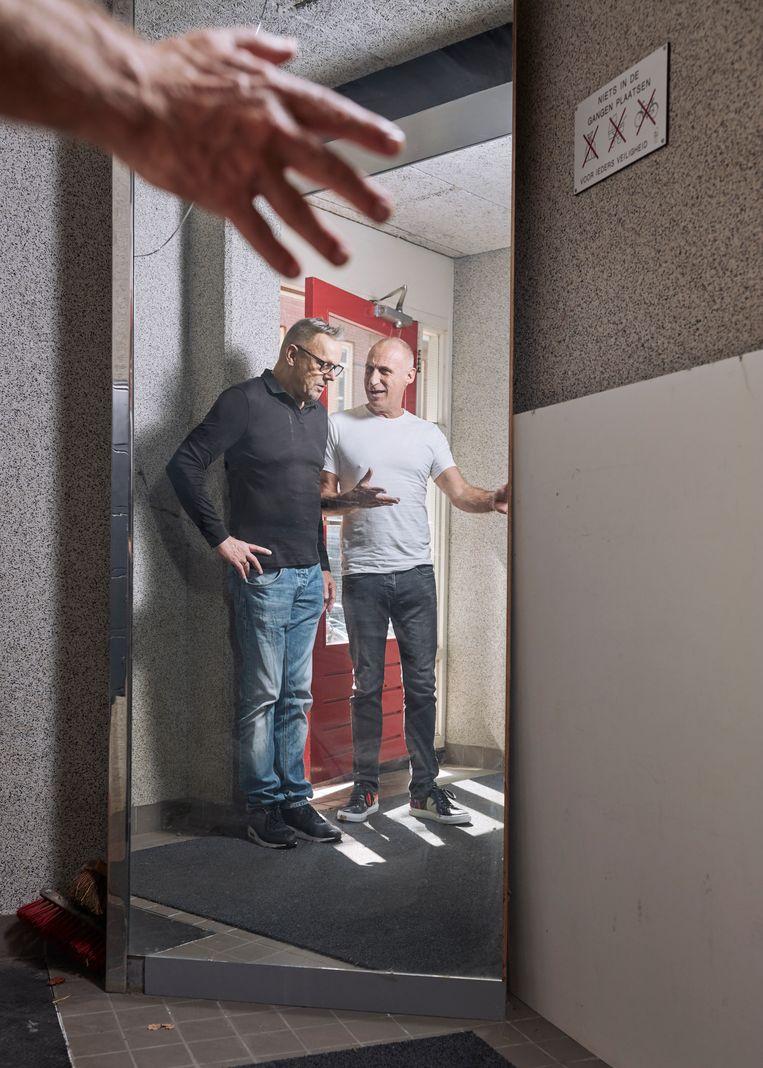 Bert Oele en Erwin Kokkelkoren. Beeld Erik Smits
