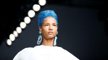 Afgekeken van de catwalk: felle en opvallende haarkleuren zijn de nieuwe kapseltrend