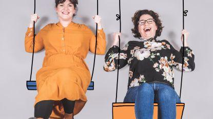 Eva (32) en Nina (34) Mouton, de zussen die pleiten voor 'mild ouderschap'