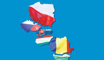 Oost-Europa kiest zijn eigen koers, los van het Westen