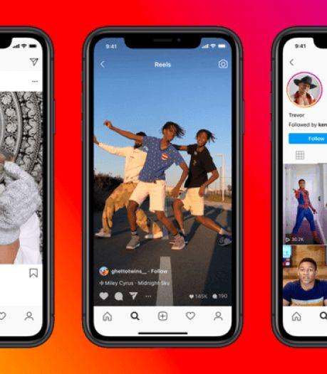 Instagram brengt TikTok-alternatief Reels uit in Nederland