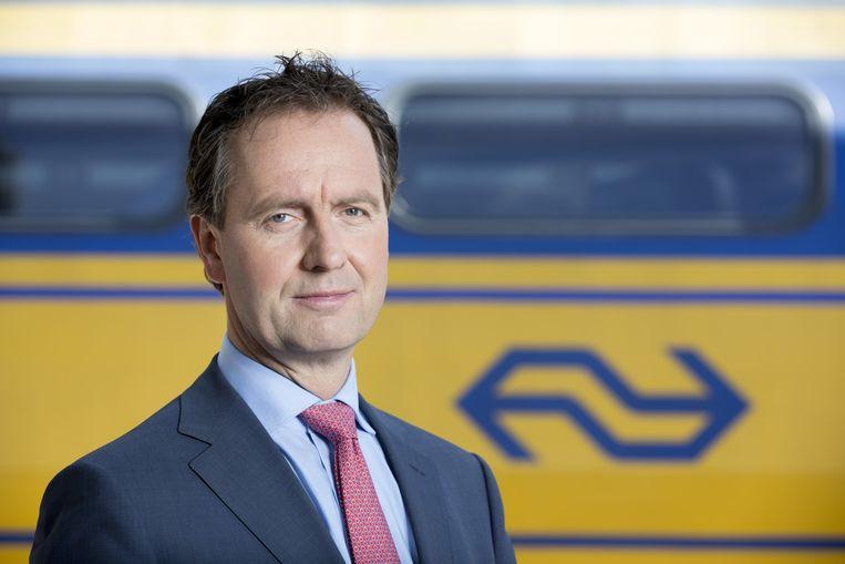 Timo Huges stapte op bij de NS vanwege geknoei met aanbesteding in Limburg Beeld anp