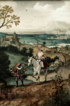 'De Vlucht naar Nederland', een Lucas Gassel-Sinterklaascombi in Helmond