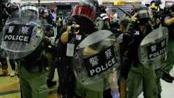 Vijf gewonden bij mesaanval in Hongkong