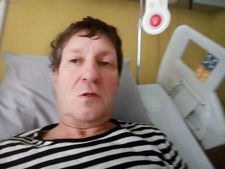 Erwin Dirix is besmet met Covid-19 en ligt momenteel in het ziekenhuis.