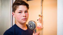 """Max (12) werd getroffen door de bliksem: """"Ga nooit douchen tijdens onweer"""""""