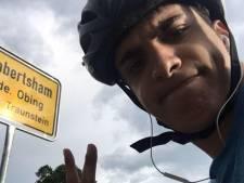 Griekse student fietst van Schotland naar Athene na geannuleerde vluchten