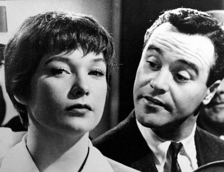Shirley MacLaine en Jack Lemmon in The Apartment. Beeld