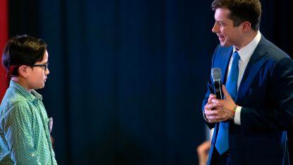 """""""Ik wil net zo moedig zijn als u"""": Zachary (9) vraagt Pete Buttigieg advies over coming-out"""