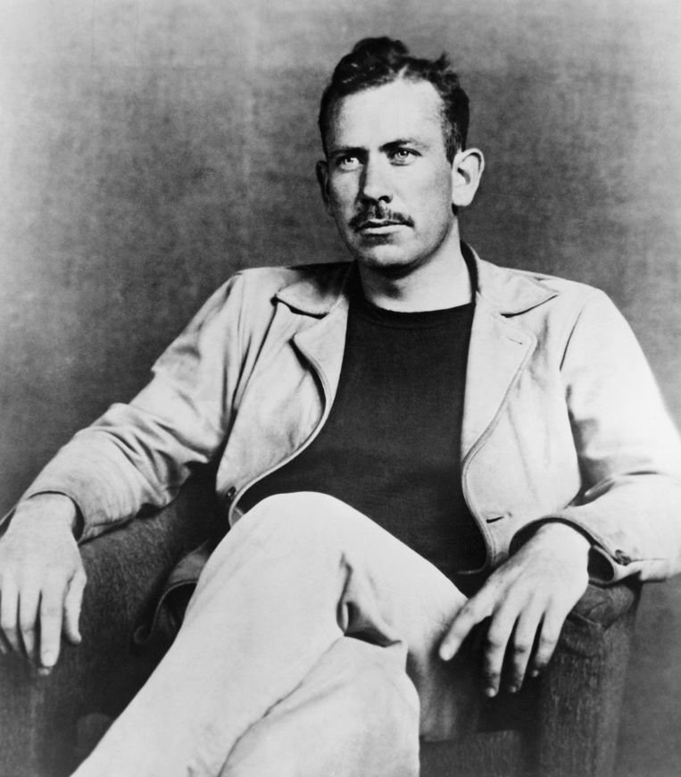 John Steinbeck (1902-1968) Beeld Corbis via Getty Images